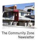 Sign up for the Community Zone newsletter